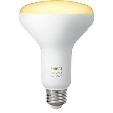 Philips Hue White Ambiance BR30 Single Bulb- 2pk