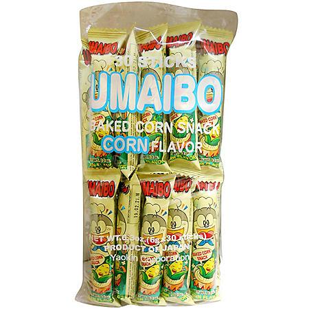 Umaibo Corn Stick Snack (30 ct.)