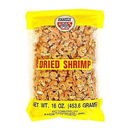 Family U.S. Dried Shrimp (16 oz. bag)