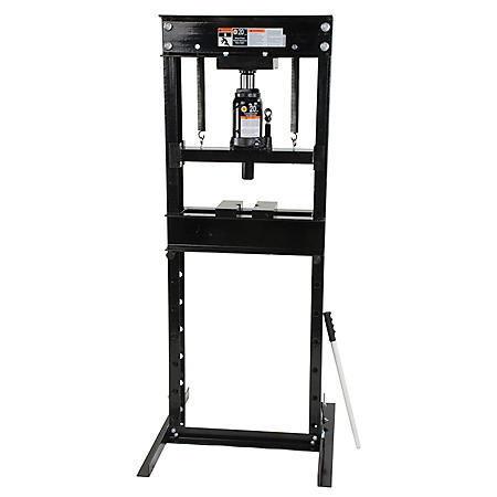 Omega Shop Press - 20 Ton Capacity (Black)