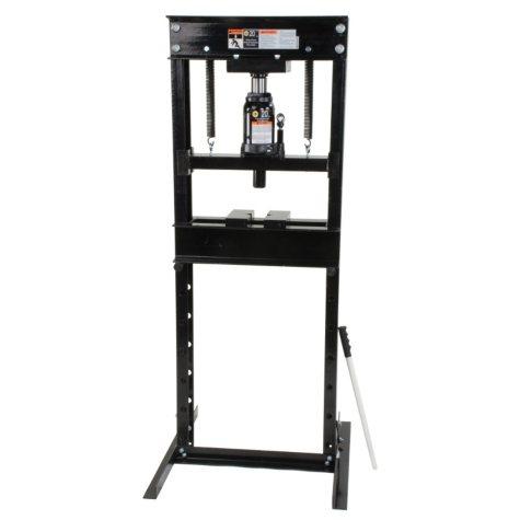 Omega Shop Press - 20 Ton Capacity (Black)