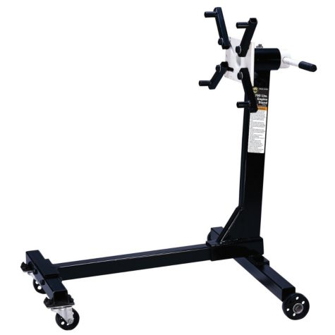 Omega H-Type Engine Stand - 750 lb. Capacity (Black)