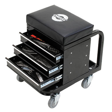 Omega Tool Box Creeper, 450 lb. Capacity (Black)