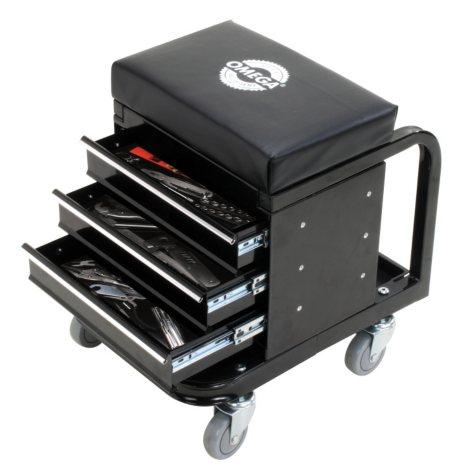Omega Tool Box Creeper, 450 lb. Capacity (Black)