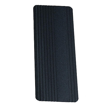 Universal Square Cut Mud Flaps, Aluminum Finish