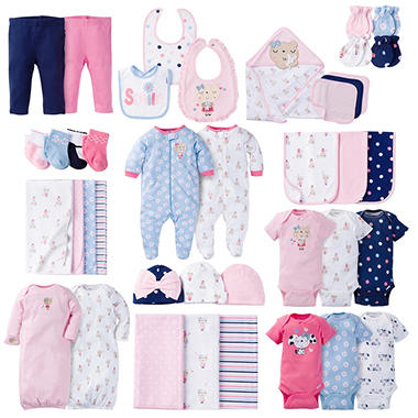 Gerber Girls' 40-Piece Layette Set