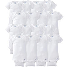 Gerber Onesies 16-Piece GROW WITH ME Set-White