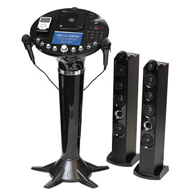 Singing Machine Pedestal CDG Karaoke System