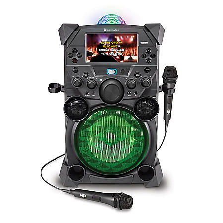 Singing Machine Festival Portable High-Definition Karaoke System