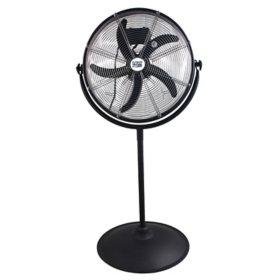 """MaxxAir 20"""" Outdoor Rated Pedestal Fan"""