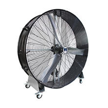 "Big Air 60"" Belt Drive Barrel Fan with Steel Casters"