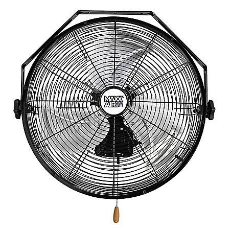 "MaxxAir 18"" High Velocity Wall Mount Fan"