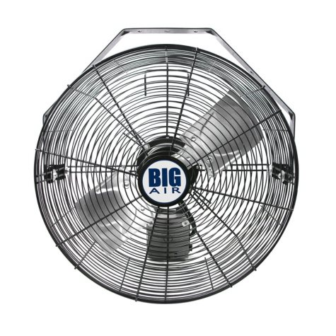 "Big Air 18"" Wall Mount Fan with WiFi Controls"