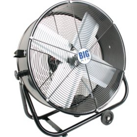 "Big Air 24"" Drum Fan with Tilting Feature"