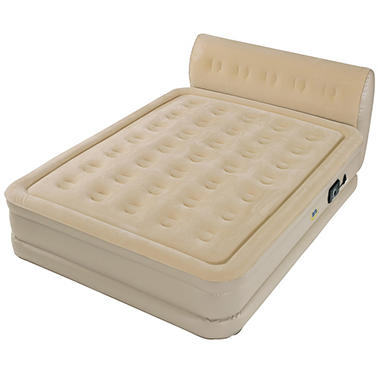 Serta Perfect Sleeper Queen Air Bed With Headboard Sam 39 S Club