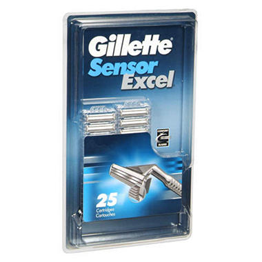 Gillette Sensor Excel Cartridges (25 ct.)