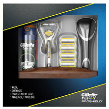 Gillette Fusion ProShield + Bonus Holiday Pack (4 ct.)