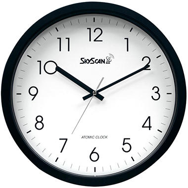 Skyscan Atomic Analog Wall Clock - 14