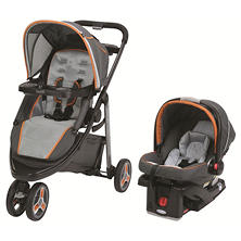 Graco Modes Sport Click Connect Travel System, Tangerine