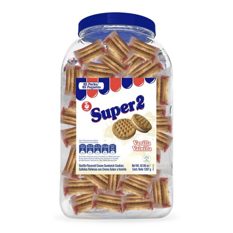 Noel Super 2 Vanilla Cookies - 85 ct.
