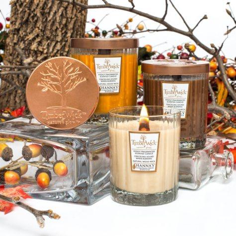 TimberWick Natural Wood Wick Candles Gift Set (8.25 oz. each, 3 pk.)