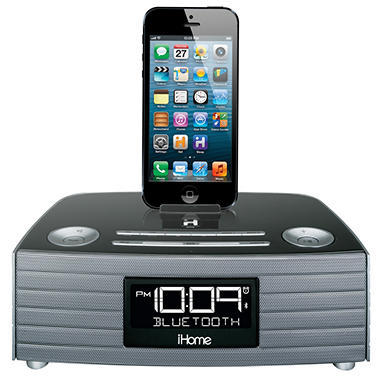 iHome Bluetooth Stereo FM Clock Radio w/ USB Charging