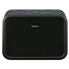iHome iBN6 Rugged Portable Waterproof Bluetooth Speaker with Speakerphone, NFC and USB Charging