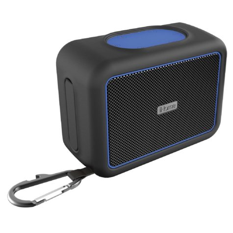 iHome iBT35 Rugged Portable Waterproof Bluetooth Speaker with Speakerphone