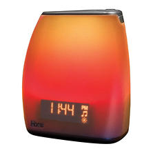 iHome Zenergy Bedside Sleep Therapy Dual Alarm Clock Radio