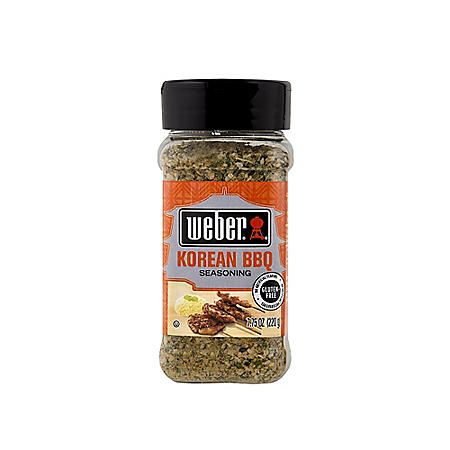 Weber Korean BBQ Seasoning (7.75 oz.)