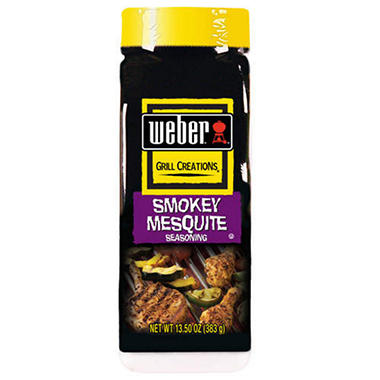 Weber Smokey Mesquite Seasoning - 13.5oz