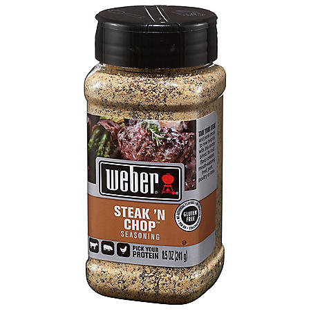 Weber Steak 'n Chop Seasoning (8.5 oz.)