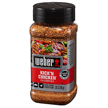 Weber Kick 'n Chicken Seasoning (7.25 oz.)