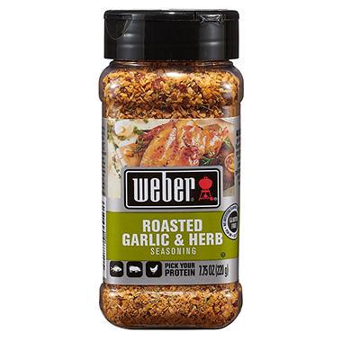 weber roasted garlic and herb seasoning oz sam 39 s club. Black Bedroom Furniture Sets. Home Design Ideas