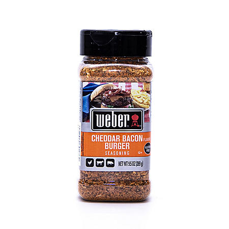 Weber Cheddar Bacon Burger Seasoning (9.5 oz.)