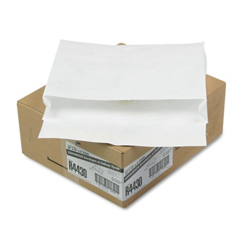 SURVIVOR - Tyvek Expansion Mailer, 10 x 13 x 2, White, 18lb -  100/Carton
