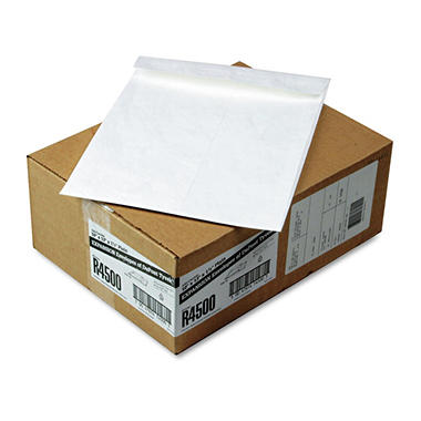 SURVIVOR - Tyvek Expansion Mailer, 10 x 13 x 1 1/2, White - 100/Carton