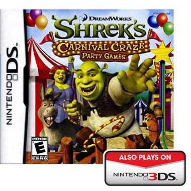 Shrek's Carnival Craze Party Games - NDS