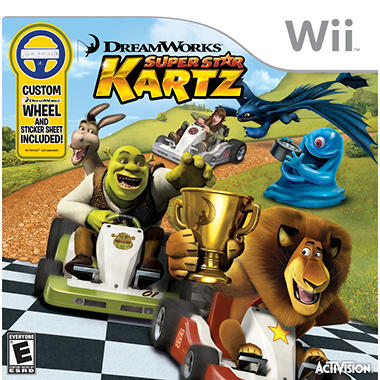 DreamWorks Super Star Kartz - Wii