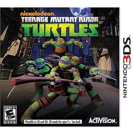Teenage Mutant Ninja Turtles - 3DS