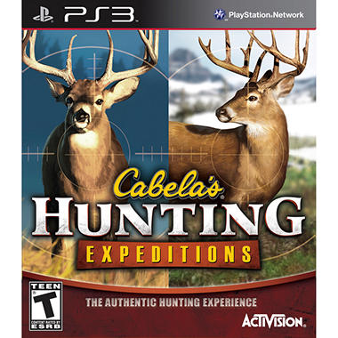 Cabela Hunting Expendition – PS3
