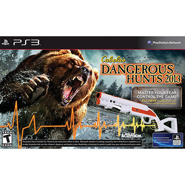 Cabela's Dangerous Hunts 2012 Bundle with Gun – PS3