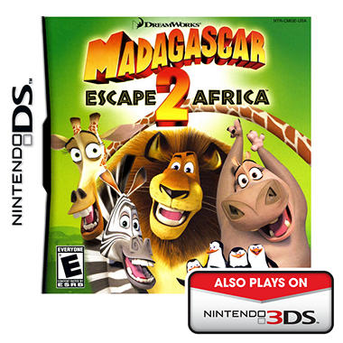Madagascar 2: Escape 2 Africa - NDS