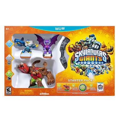 Skylanders Giants Starter Pack - WiiU