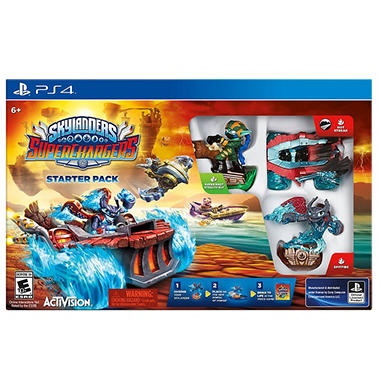 Skylanders Superchargers Starter Kit - PS4