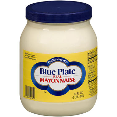 Blue Plate® Real Mayonnaise - 64 oz.