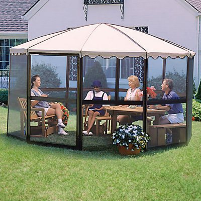 Gazebos Awnings Canopies Outdoor Enclosures Sams Club