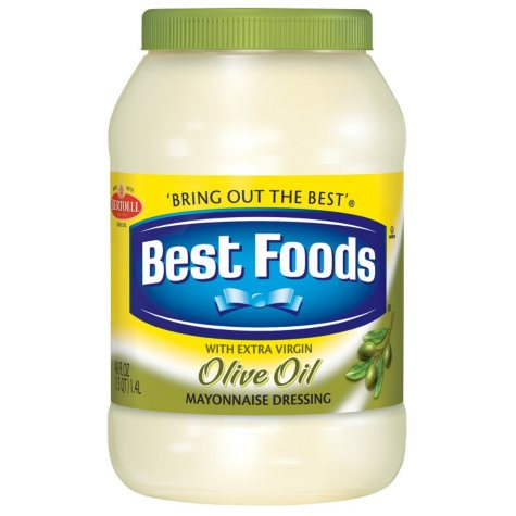 Best Foods® Mayonnaise Dressing With Extra Virgin Olive Oil - 48 oz.