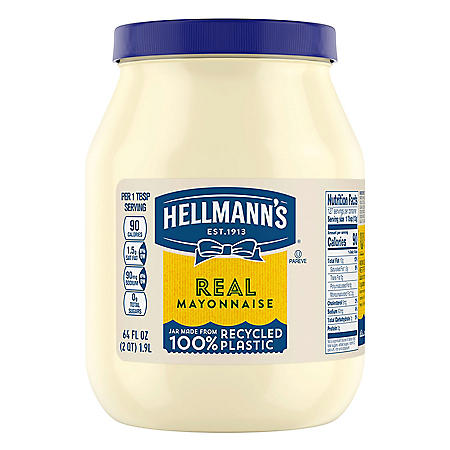 Hellmann's Real Mayonnaise (64 oz.)