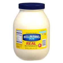 Hellmann's® Real Mayonnaise - 1 gallon jar